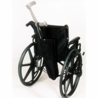 Crutch Holder - Wheelchairs w/ Push Handles
