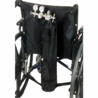 Oxygen Tank Holder - Wheelchairs w/ Push Handles
