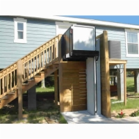 AmeriGlide Atlas Vertical Platform Lift - Tall Residential