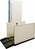 AmeriGlide Hercules II 600 Vertical Platform Lift - Reconditioned Commercial