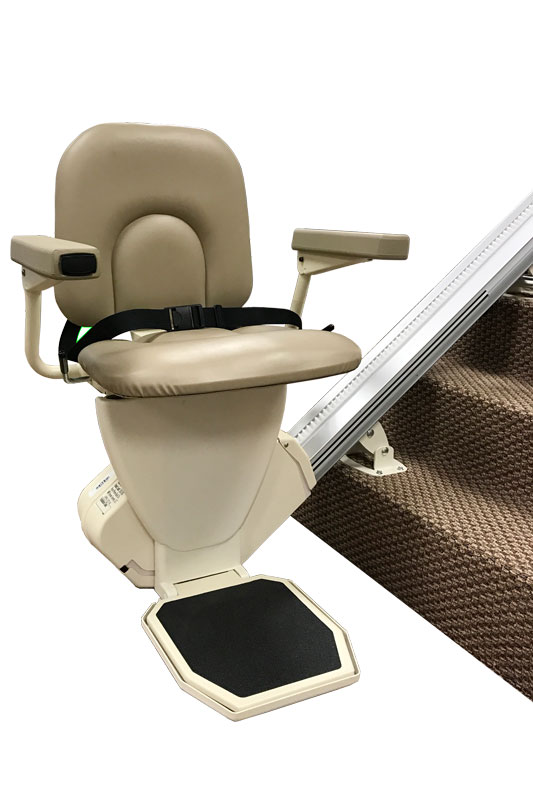 Home Stair Lifts Reconditioned AmeriGlide Rave Stair Lift
