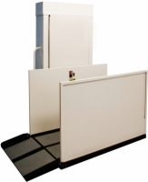 AmeriGlide Hercules II 600 Vertical Platform Lift - Reconditioned Residential